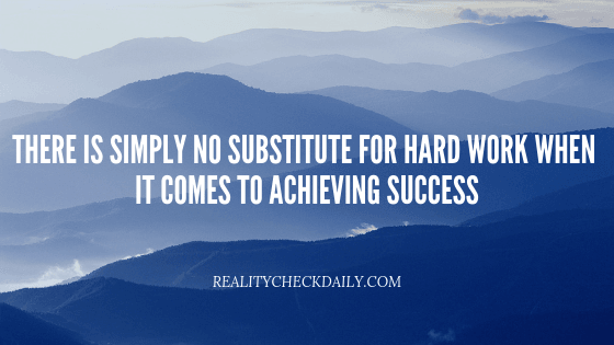hard work is key to success