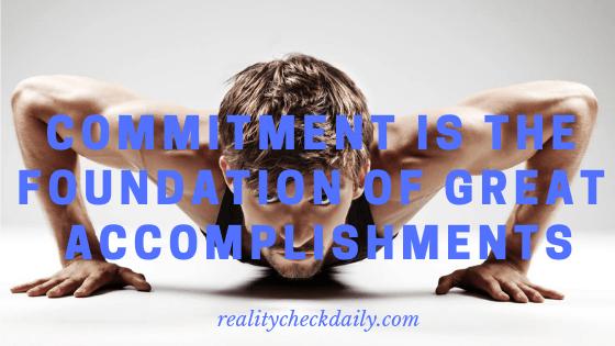 commitment benefits