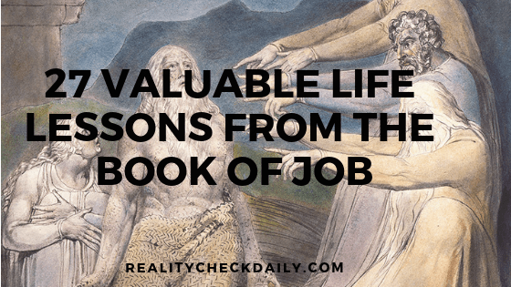 27 VALUABLE LIFE LESSONS FROM THE BOOK OF JOB