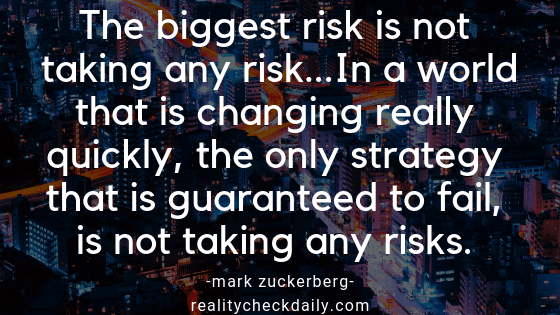 Successful People Take Risks