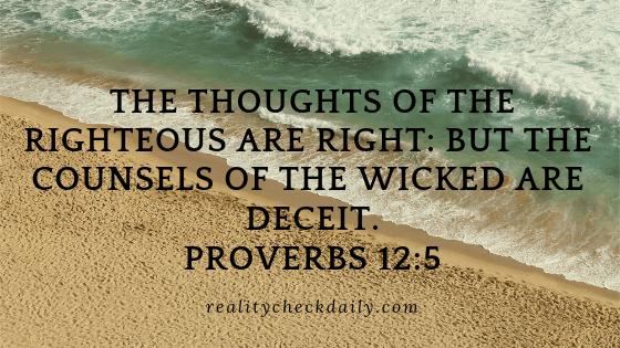 Proverbs 12:5 KJV