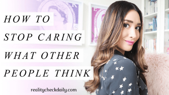 4 strategies to stop caring what people think