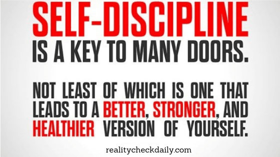 Self-Discipline is a Key to Many Doors