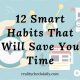 12 Smart Habits That Will Save You Time