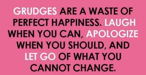 Grudges affect Happiness