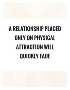 friendship over physical attraction