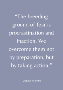 procrastination and fear