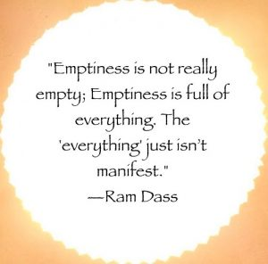 quote about emptiness