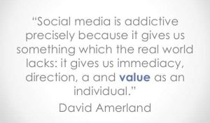 what social media does